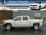 2012 White Diamond Tricoat Chevrolet Silverado 1500 LT Crew Cab 4x4 #59584091