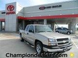2005 Silver Birch Metallic Chevrolet Silverado 1500 LS Extended Cab #59583523
