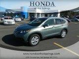 2012 Opal Sage Metallic Honda CR-V EX-L #59583799