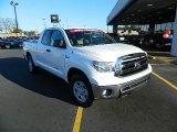 2010 Super White Toyota Tundra Double Cab #59583794