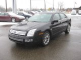 2009 Ford Fusion SEL V6 Blue Suede Data, Info and Specs