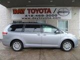 2012 Silver Sky Metallic Toyota Sienna LE AWD #59583484