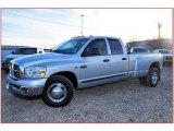 2007 Bright Silver Metallic Dodge Ram 3500 Lone Star Quad Cab Dually #59583768