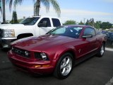 2007 Redfire Metallic Ford Mustang V6 Deluxe Coupe #59584049