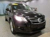 2011 Deep Black Metallic Volkswagen Tiguan SEL 4Motion #59583968