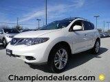 2012 Pearl White Nissan Murano LE #59583324
