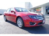 2011 Red Candy Metallic Ford Fusion SEL V6 #59583649