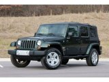 2010 Jeep Wrangler Unlimited Natural Green Pearl