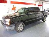 2004 Black Chevrolet Silverado 1500 LT Extended Cab #59583298