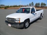 2003 Summit White Chevrolet Silverado 1500 Regular Cab #59583887