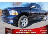 2012 True Blue Pearl Dodge Ram 1500 Express Quad Cab #59583619