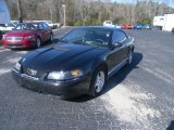 2002 Black Ford Mustang V6 Coupe #59583866