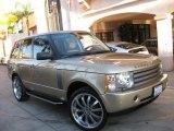 Maya Gold Metallic Land Rover Range Rover in 2005