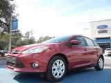2012 Red Candy Metallic Ford Focus SE 5-Door #59583556