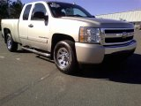 2007 Sandstone Metallic Chevrolet Silverado 1500 LT Extended Cab 4x4 #59583841