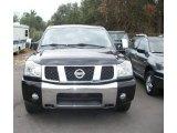 2007 Galaxy Black Nissan Titan XE Crew Cab #59639905