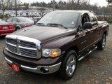 2005 Deep Molten Red Pearl Dodge Ram 1500 SLT Quad Cab #59639614