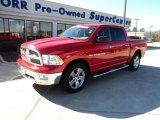 2012 Flame Red Dodge Ram 1500 Big Horn Crew Cab 4x4 #59639717