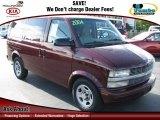 2004 Dark Carmine Red Metallic Chevrolet Astro LS Passenger Van #59639840