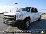 2008 Summit White Chevrolet Silverado 1500 LT Crew Cab 4x4 #59639563
