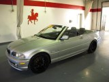2003 Titanium Silver Metallic BMW 3 Series 325i Convertible #59639540