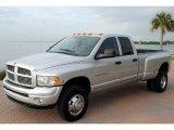 2004 Bright Silver Metallic Dodge Ram 3500 SLT Quad Cab 4x4 Dually #59639694