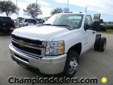 2012 Chevrolet Silverado 3500HD WT Regular Cab Dually Chassis Data, Info and Specs
