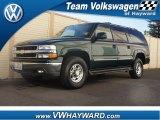 2001 Forest Green Metallic Chevrolet Suburban 2500 LT 4x4 #59639814