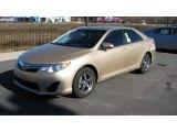 2012 Sandy Beach Metallic Toyota Camry LE #59639685
