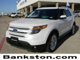 2011 White Platinum Tri-Coat Ford Explorer Limited #59639513