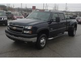 2006 Dark Blue Metallic Chevrolet Silverado 3500 LT Crew Cab 4x4 Dually #59639799