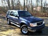 2000 Medium Wedgewood Blue Metallic Ford Explorer XLT 4x4 #59669381
