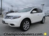 2012 Pearl White Nissan Murano LE AWD #59669148