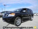 2012 Galaxy Black Nissan Armada Platinum #59669147