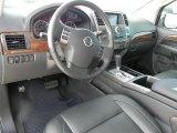 2012 Nissan Armada Platinum Charcoal Interior