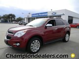 2010 Cardinal Red Metallic Chevrolet Equinox LTZ #59669130