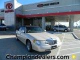 2002 Light Parchment Gold Lincoln Town Car Cartier #59669258