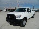 2012 Super White Toyota Tundra Double Cab #59669254