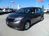 2012 Predawn Gray Mica Toyota Sienna  #59669246