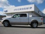 2011 Oxford White Ford F150 Lariat SuperCrew 4x4 #59669233