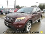 2012 Cinnamon Metallic Ford Explorer Limited #59669096