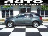 2010 Cyber Gray Metallic Chevrolet Equinox LT AWD #59669322