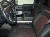 2008 Ford F150 FX2 Sport SuperCab Black/Red Sport Interior