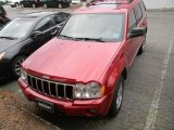 2006 Inferno Red Crystal Pearl Jeep Grand Cherokee Limited 4x4 #59669291