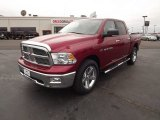 2012 Deep Cherry Red Crystal Pearl Dodge Ram 1500 Big Horn Crew Cab 4x4 #59689371