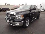 2012 Black Dodge Ram 1500 Big Horn Crew Cab #59689369