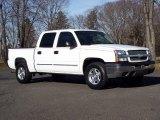 2004 Summit White Chevrolet Silverado 1500 LS Crew Cab 4x4 #59689328