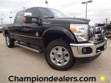 2012 Black Ford F250 Super Duty Lariat Crew Cab 4x4 #59689037