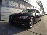 2009 Jet Black BMW 3 Series 328i Convertible #59689030