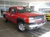 2005 Victory Red Chevrolet Silverado 1500 Z71 Extended Cab 4x4 #59689017